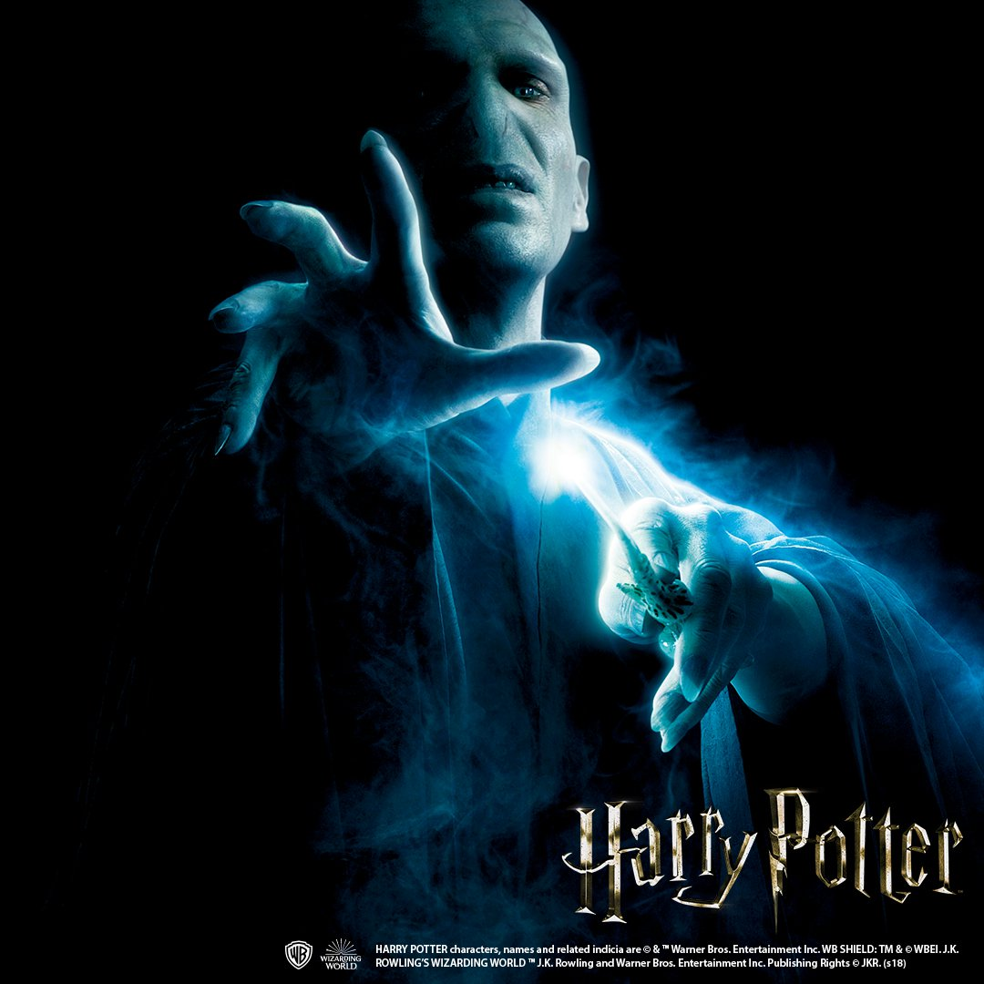 Wand Necklace -Lord Voldemort-