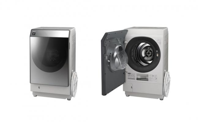 プラズマクラスター洗濯乾燥機<ES-W111-SL(シルバー系・左開き)>