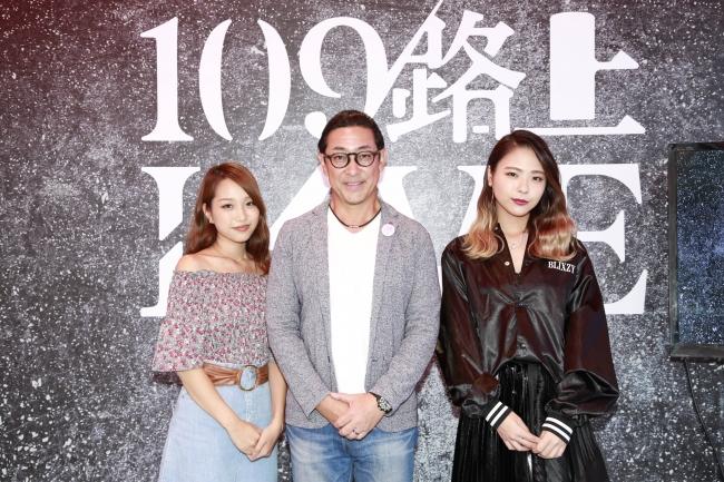 (左から順に)KIMIKA、SHIBUYA109エンタテイメント社代表取締役社長木村知郎、武藤千春