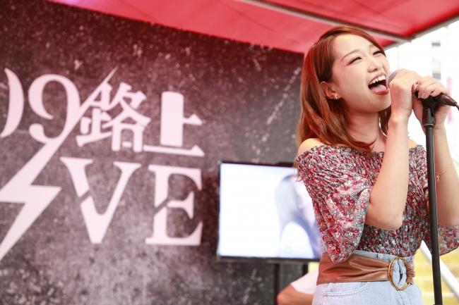「109路上LIVE」1stシーズン優勝 KIMIKA