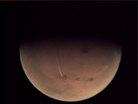 え?火星の火山が噴火してる?欧...
