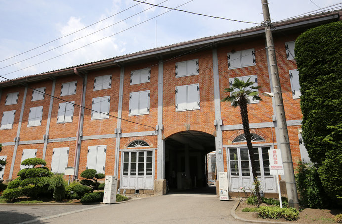 世界遺産に登録されている富岡製糸場