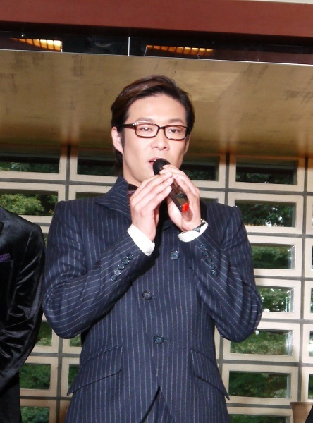ミュージカル「イヴ・サンローラン」製作発表 東山義久