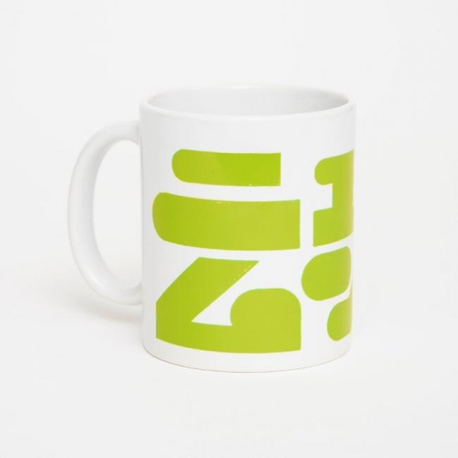 ロゴニュウムンクマグカップ