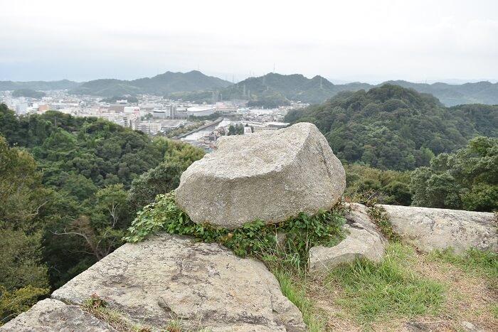 米子城、忘れ石、小天守