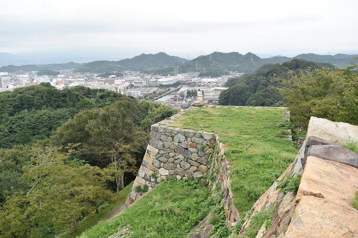 米子城、吉川広家、三重天守