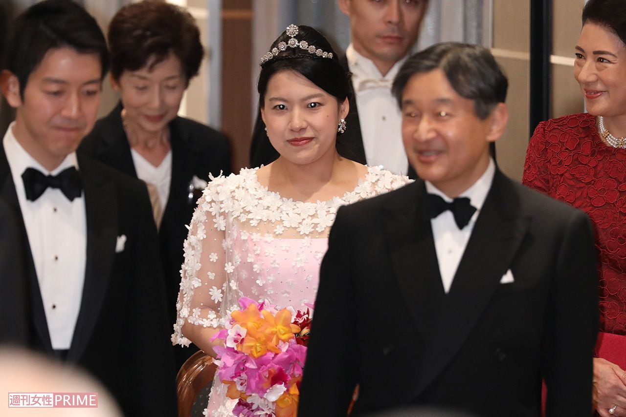 高円宮家・絢子さまの結婚披露宴...