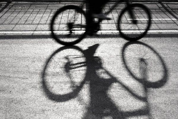 イヤホン自転車