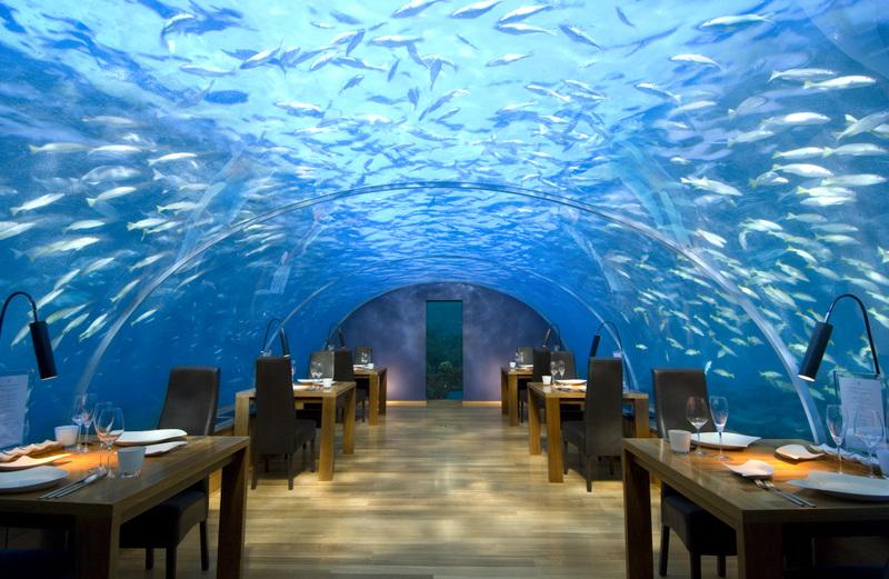 水中ホテル