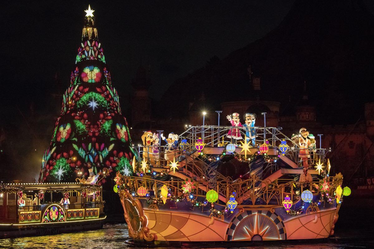 夜の東京ディズニーシーをロマンティックに彩る ディズニー
