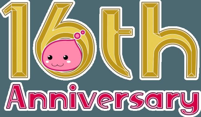 16周年ロゴ