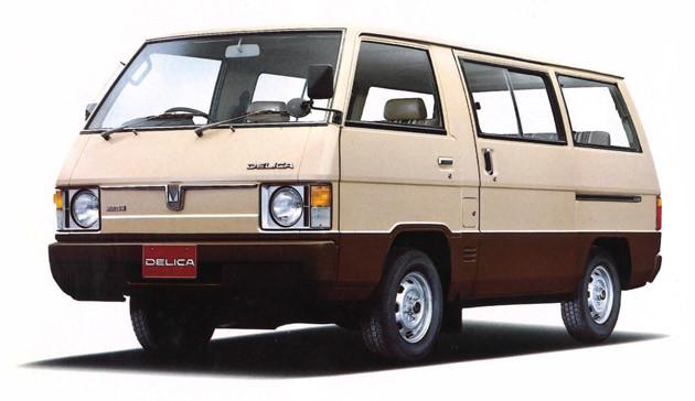2代目・デリカ スターワゴン(1979年) 1982年10月には小型キャブオーバー車としては、日本初となる4WDを追加搭載して話題をかっさらった