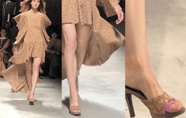"""今年9月に「2019SSミラノ・コレクション(主催非営利団体イタリアファッション協会)」に正式起用され、世界のスーハーモデルが""""あし美人""""を装着し、ランウェイを歩いた"""