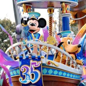 """東京ディズニーランド「東京ディズニーリゾート35周年""""Happiest Celebration!""""グランドフィナーレ」ドリーミング・アップ!"""