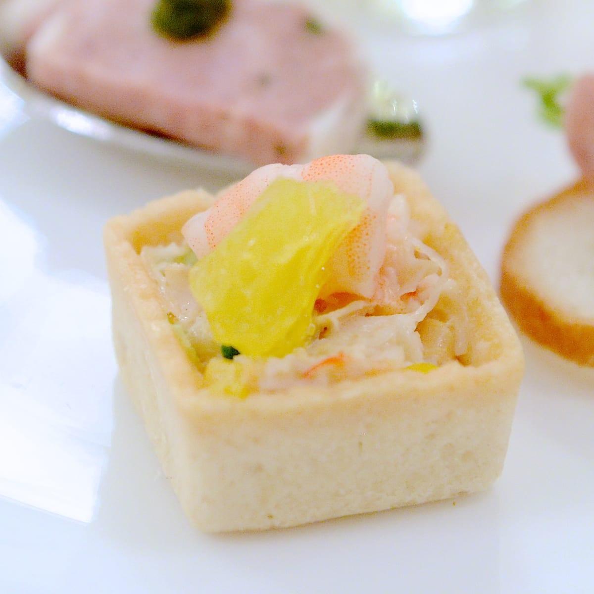 海老と帆立貝のタルタル シトラス風味