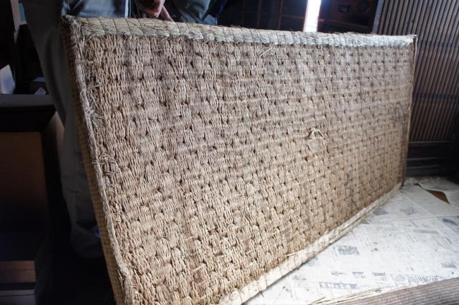栃木の推定200年以上江戸時代の畳回収時