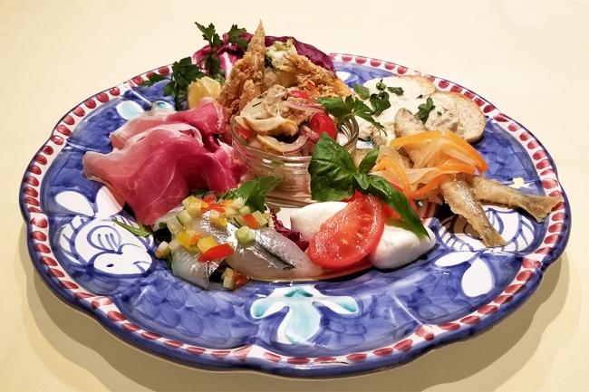 コース前菜の盛り合わせ(2名様分)