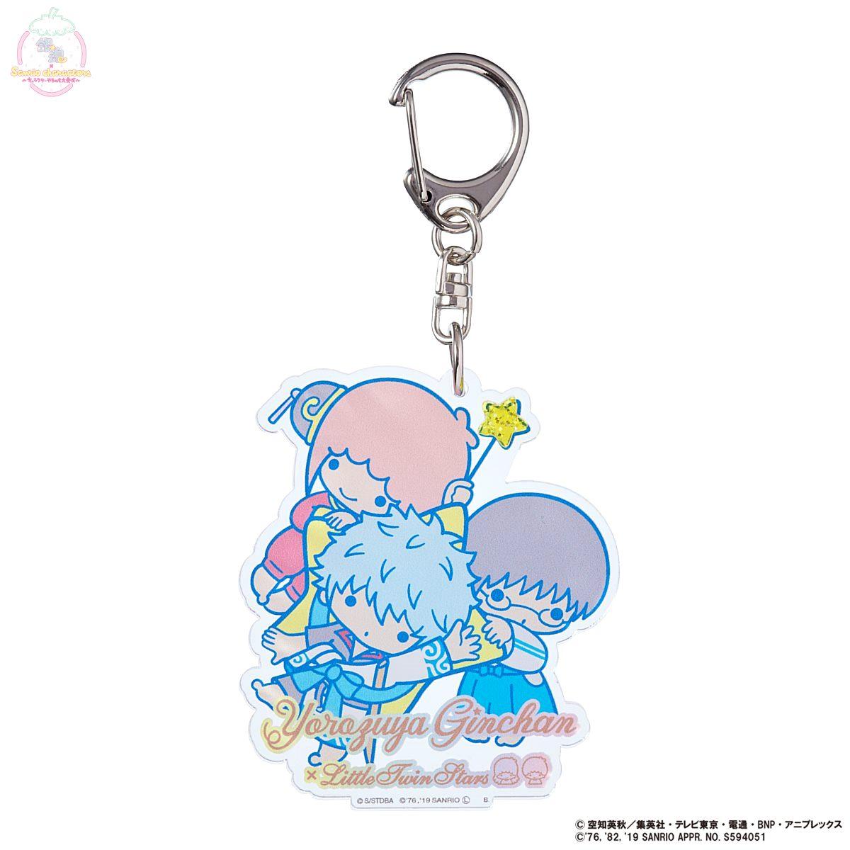 銀魂×Sanrio characters アクリルキーホルダー