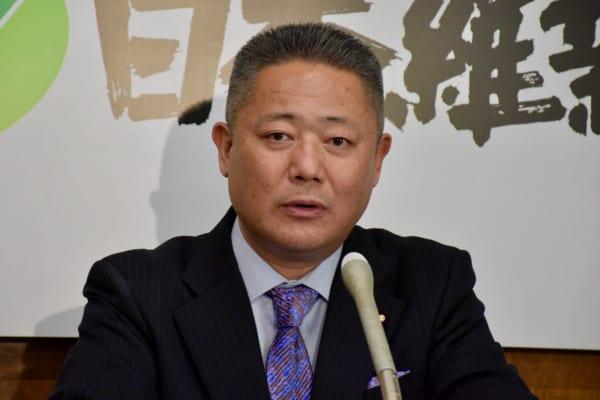馬場伸幸幹事長