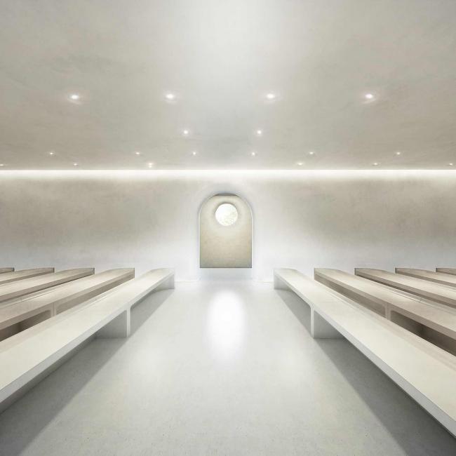 CELEBRATION HALL(西館1F):挙式会場(91平米・着席80名)