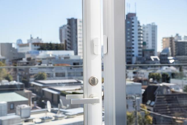 スマートセンサー(ドア・窓)使用例