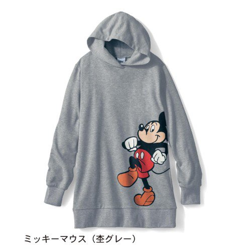 ミッキーマウス(杢グレー)