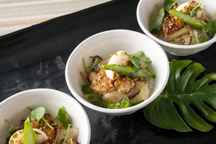鉄板フォアグラと野菜の丼(ディナー限定)