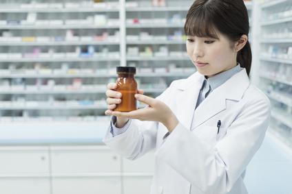 薬局 薬剤師 薬瓶