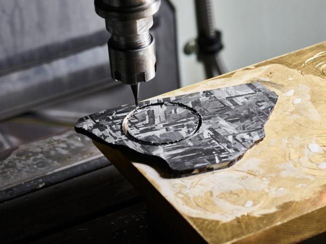 3軸CNCマシンを用いた切削