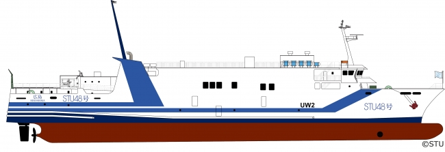 ▲「STU48号」外観デザイン