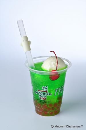 ■グリーンパインクリームソーダ