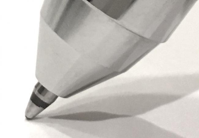 ボールペン黒