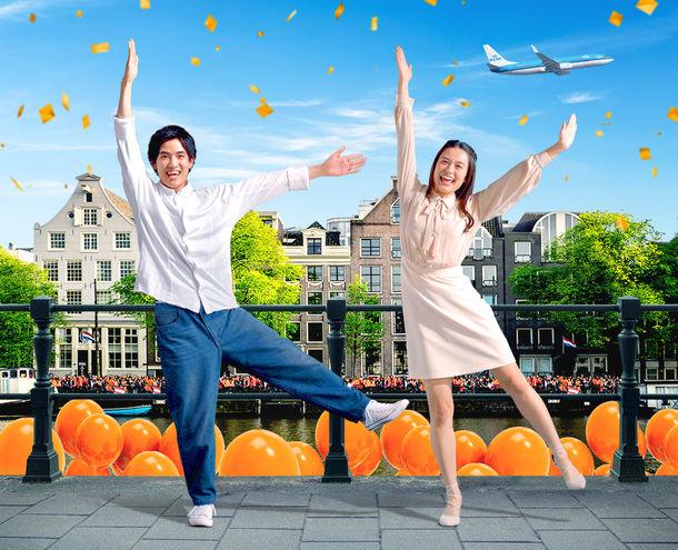 KLMの「Kポーズ」