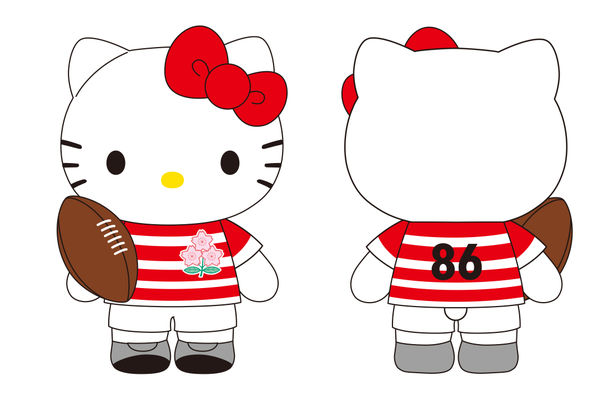 ラグビー日本代表×「ハローキティ」