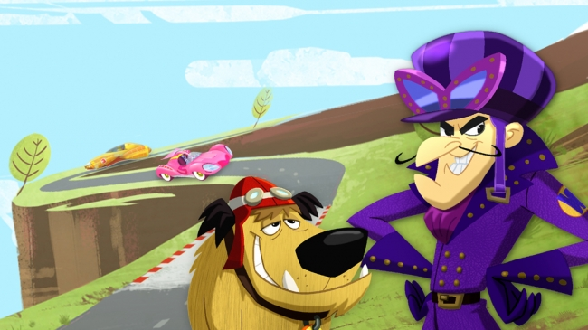 (c) Warner Bros. Entertainment Inc. WACKY RACES and all related characters and elements are trademarks of and (c) Hanna-Barbera.