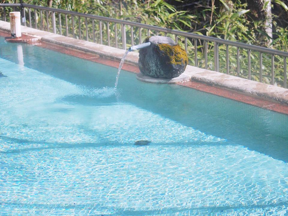療養の湯と言われる鹿教湯温泉