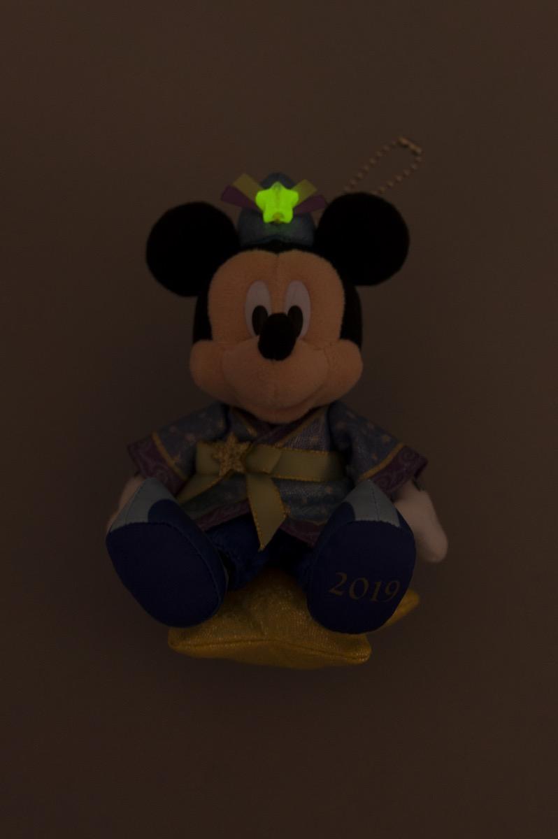 ぬいぐるみバッジ ミッキーマウス2