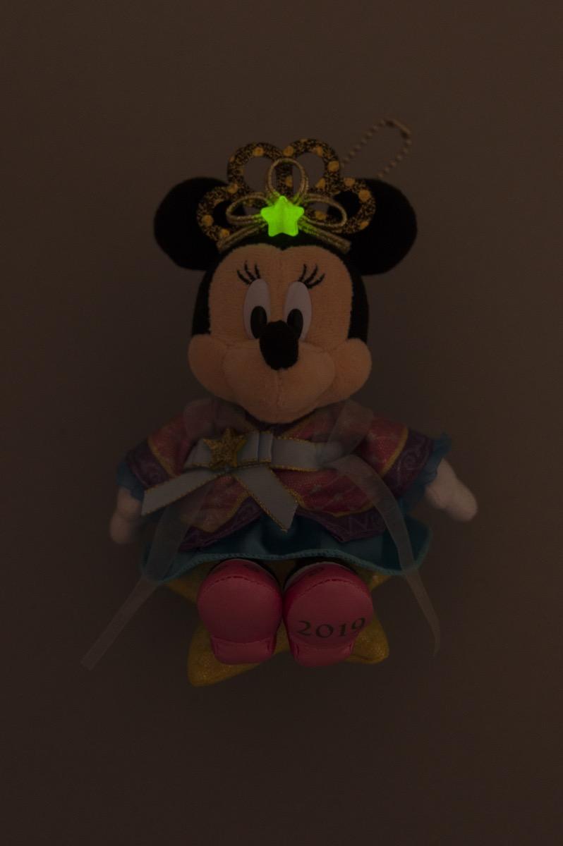 ぬいぐるみバッジ ミニーマウス2
