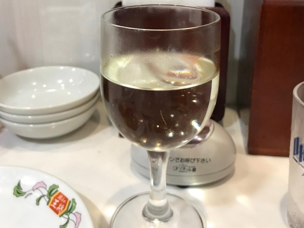 餃子の王将 ワイン