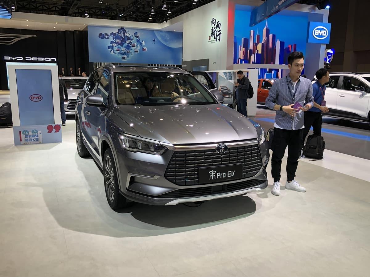 上海モーターショーに出展されている中国車が日本車を越えるクオリティ