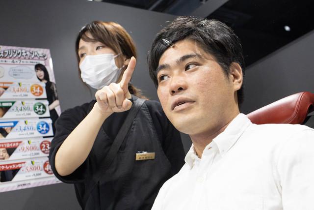クラフターの鈴木智加子さんがメンズメイクの基本をレクチャー