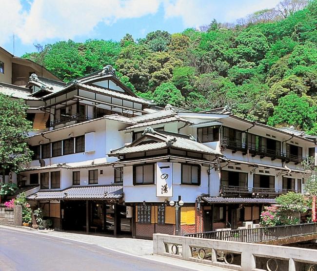 寛永7年創業の歴史ある温泉旅館