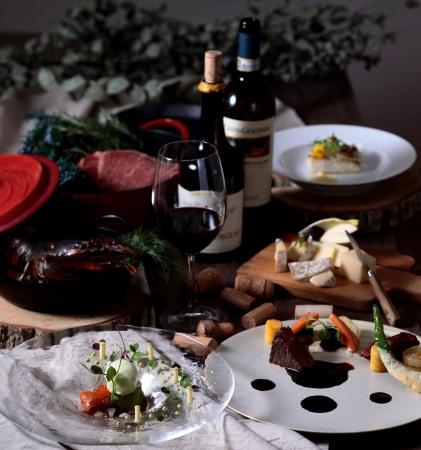 フランスで学んだ食材や京都産の食材を 使用し、「フランスの今」をお届けします