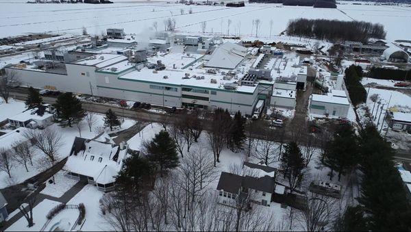 今春から稼働開始するトラハン工場