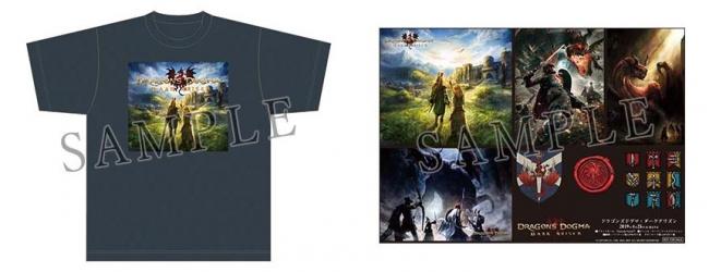 <ツイート賞>『ドラゴンズドグマ:ダークアリズン』 オリジナルTシャツ&ステッカーセット ※画像はイメージです