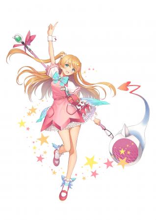 あみこ illustration by Tony