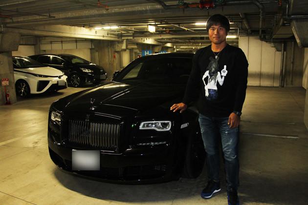 平田選手が購入したロールス・ロイス・ゴースト・ブラック・バッジ