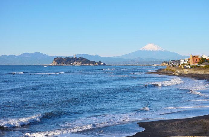 稲村ケ崎——病気静養中だった津田梅子も、この景色に癒されたはず