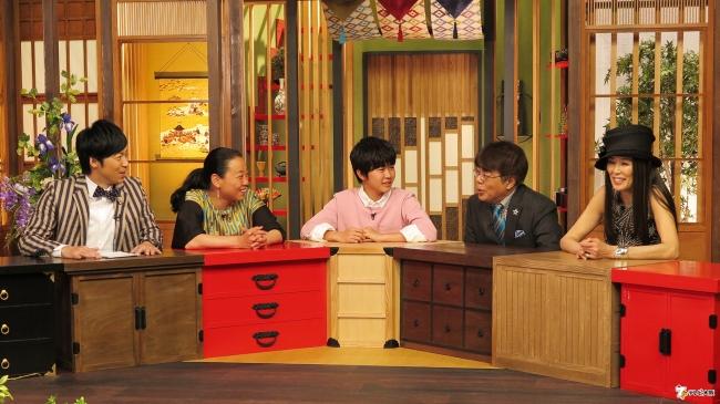 (左から)東貴博、いとうあさこ、鈴木福、小倉久寛、萬田久子