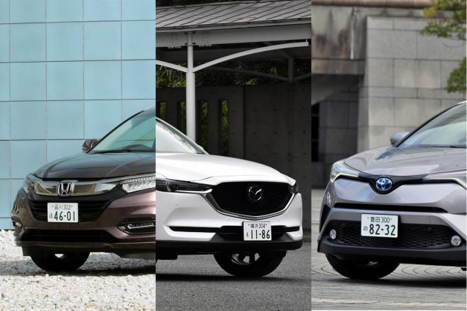 C-HR・ヴェゼル・CX-5はどれが買い? 人気SUV3台の全方位通信簿